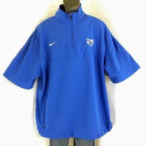 Nike Dri-Fit 1/4 Zip Georgia Tech S Sleeve Jacket